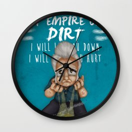 Jhonny Cash -hurt (sad songs series) Wall Clock