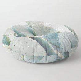 Pastel Cactus Floor Pillow