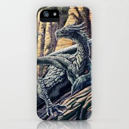 The Leggend of the Silver Dragon iPhone Case