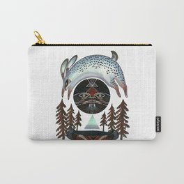 Fleeting Full Moon Carry-All Pouch
