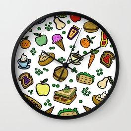 Food #2 Wall Clock
