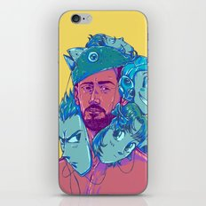 Who you are iPhone & iPod Skin