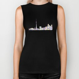 Toronto - Midnight Version Biker Tank