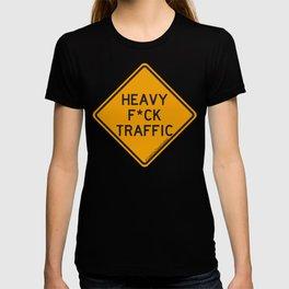 Heavy F*ck Traffic Sign T-shirt
