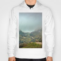 europe Hoodies featuring Peaks of Europe by Svetlana Korneliuk