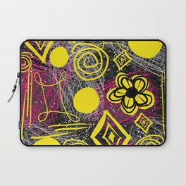 Scribble my thoughts Laptop Sleeve