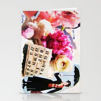 mary poppins Stationery Cards featuring Mary Poppins by Patti Friday
