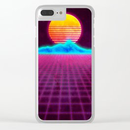 Bring It Back Clear iPhone Case