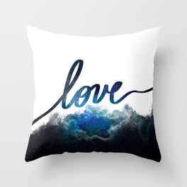 Love Universe Throw Pillow