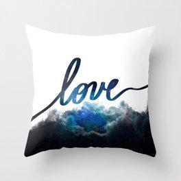 Love Universe Throw Pillow