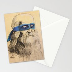 Leo TMNT Stationery Cards