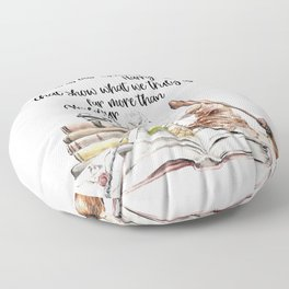 Our Choices Floor Pillow