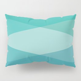 Green diamonds Pillow Sham