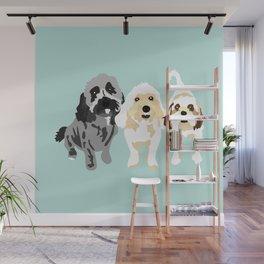 Simon, Riley, Holden Wall Mural