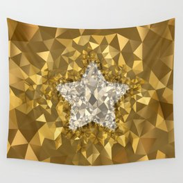 POLYNOID Star / Gold Edition Wall Tapestry