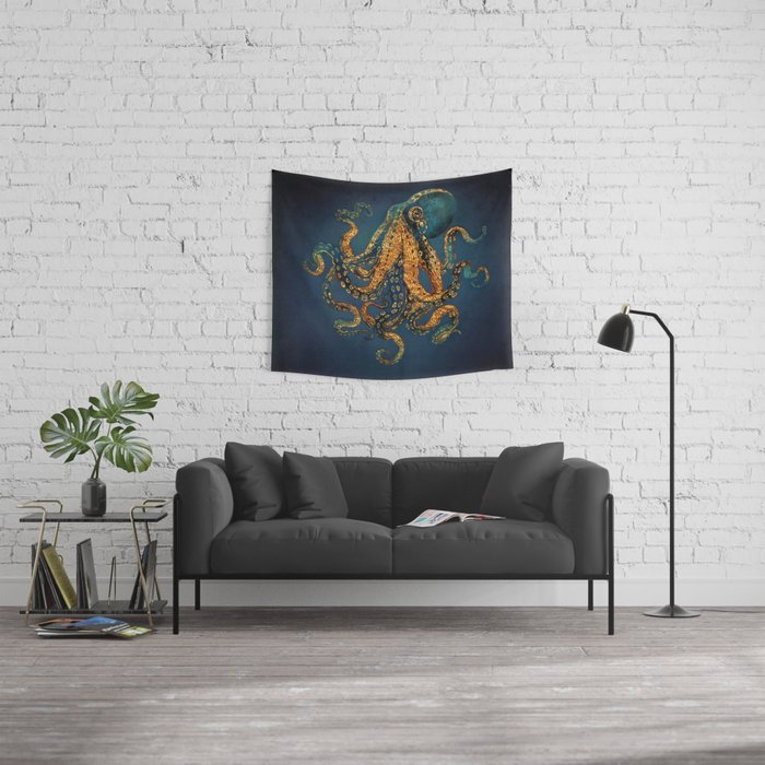 Underwater Dream IV Wall Tapestry