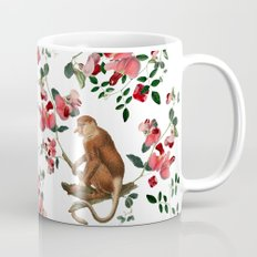 Monkey World: Nosy - White Coffee Mug