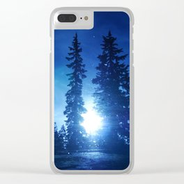 Mirror Lake Clear iPhone Case
