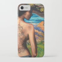 goddess iPhone & iPod Cases featuring Goddess by Artist Andrea