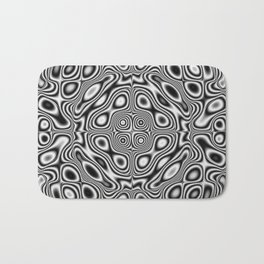 Abstract kaleidoscopic pattern Bath Mat