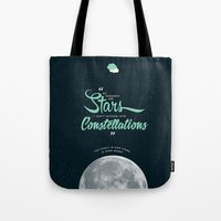 fault Tote Bags featuring The Fault in Our Stars by thatfandomshop