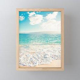 Big Beach Framed Mini Art Print