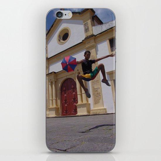 Frevo flight iPhone & iPod Skin