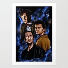 Doctors Three Art Print