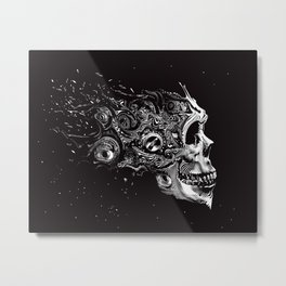 Breaking Up Upon Entry Metal Print