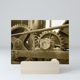 Heavy machinery Mini Art Print
