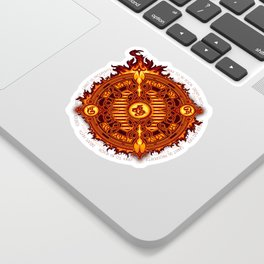 Ifrit Seal Sticker
