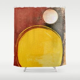 Kuaray and Jacy (Sun and Moon) Shower Curtain