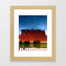 Water castle  Framed Art Print
