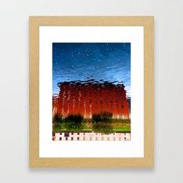 Water castle  Framed Art Print