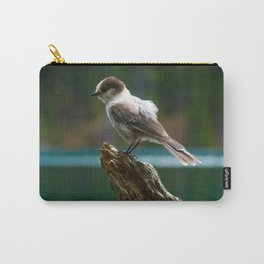 Grey Jay at Joffre Lakes Carry-All Pouch