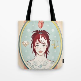Truth, Love, Beauty Tote Bag