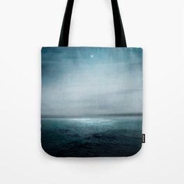 Sea Under Moonlight Tote Bag