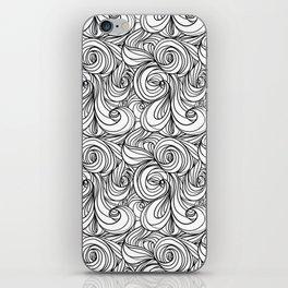 Flowing Lines iPhone Skin