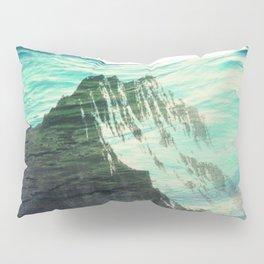 Underwater Mountain Pillow Sham