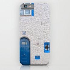Blue door in Sitges iPhone 6s Slim Case