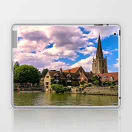 Along the Thames. Laptop & iPad Skin
