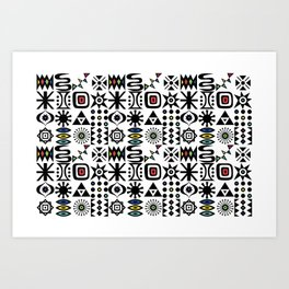 Flash Forward Art Print