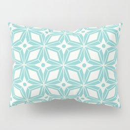 Starburst - Aqua Pillow Sham