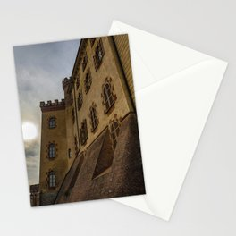 The medieval village of Barolo Stationery Cards