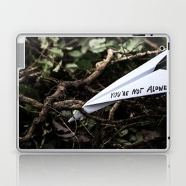 You're not alone Laptop & iPad Skin