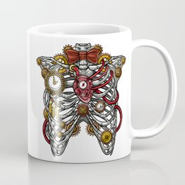 Steampunk Anatomy Rib Cage Coffee Mug