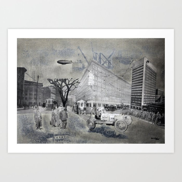 Eaton's Winnipeg Art Print
