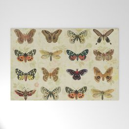 Moths & Butterflies Welcome Mat