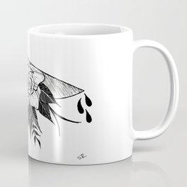 Floral Knife Coffee Mug