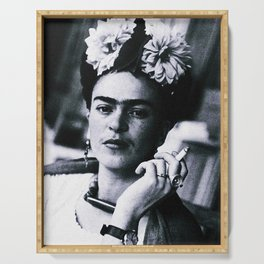 Frida Kahlo Smoke Serving Tray